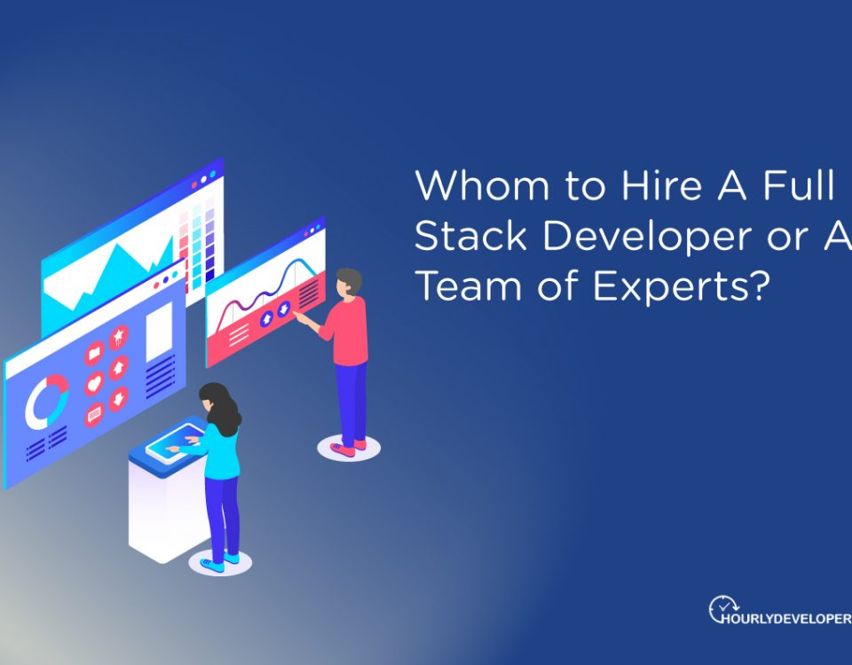 Whom to Hire A Full Stack Developer or A Team of Experts
