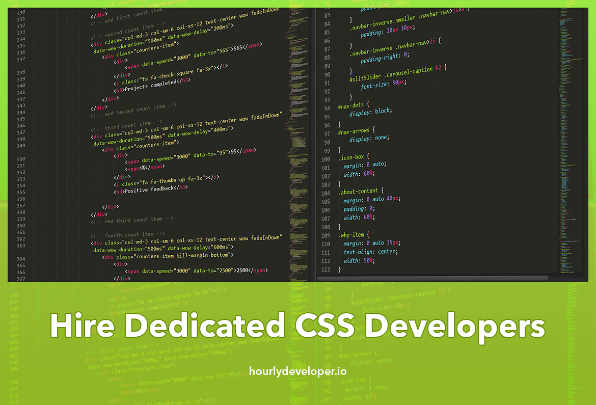 Hire Dedicated CSS Developers