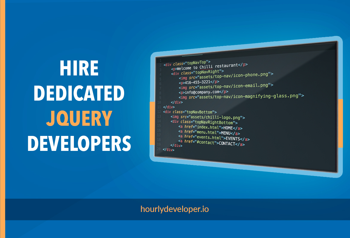 Hire Dedicated Jquery Developers